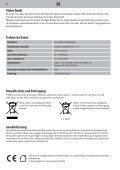 Dirt Devil Dirt Devil Cordless handheld vacuum cleaner - DD698-3 - Manual (Multilingue) - Page 7