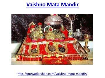 Vaishno Mata Mandir