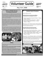 Volunteer Brochure 08:Layout 1.qxd - MS Bike Ride