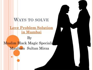 Ways to solve love problem solution in mumbai