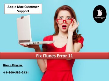 Fix iTunes Error 11