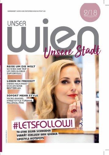 Unser Wien - unsere Stadt Sommer 2018
