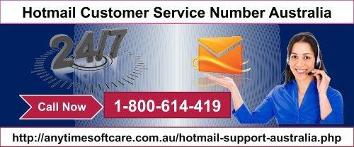 Australia hotmail 3 Ways