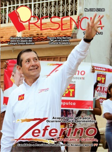 Revista Presencia Acapulco 1104