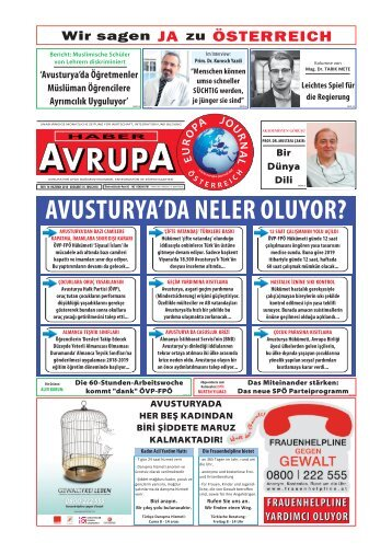 EUROPA JOURNAL - HABER AVRUPA JUNI 2018
