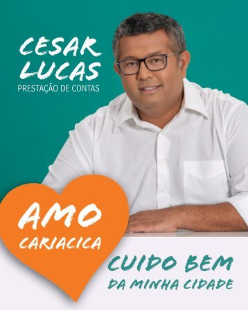 Prestação de Contas César Lucas 2018