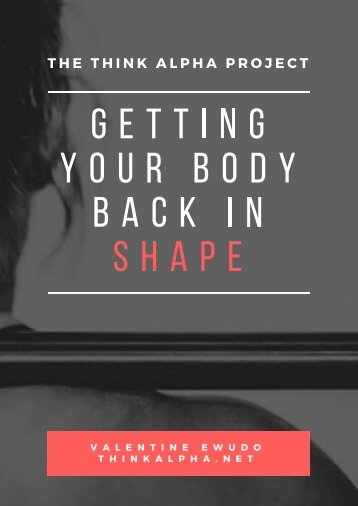 Getting Your Body Back In Shape
