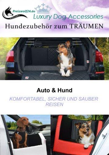 Auto und Hund - Zubehör - Urlaub mit Hund - sicher reisen, Autohundebetten