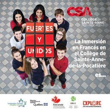 CSA Folleto 2018-2019