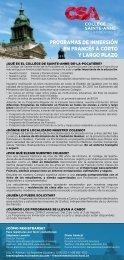 CSA Encartes bleu 2018-2019