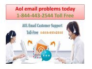 Aol email problems today 23-06 PPT