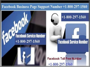+1-800-297-1560 facebook business page support number +1-800-297-1560