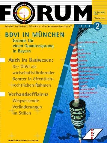 BDVI IN MÜNCHEN - Forum