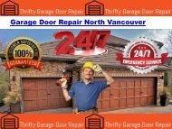 Garage Door Repair North Vancouver