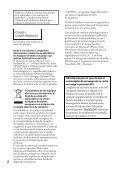 Sony CDX-GT565UV - CDX-GT565UV Mode d'emploi Espagnol - Page 2