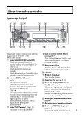 Sony CDX-GT565UV - CDX-GT565UV Mode d'emploi Espagnol - Page 5
