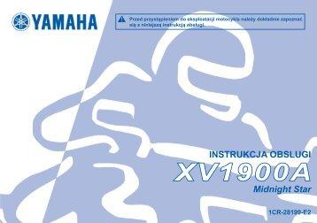 Yamaha XV1900A - 2013 - Manuale d'Istruzioni Polski