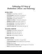 Centennial Program Book - Page 4