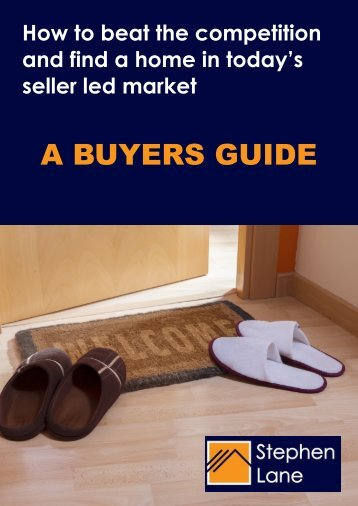 A buyers guide