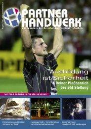 Partner Handwerk 03/2007 - Kreishandwerkerschaft Aachen