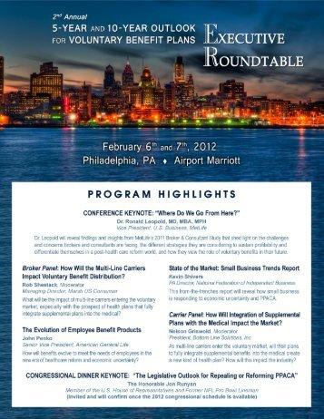 EXECUTIVE ROUNDTABLE - Content Seminars