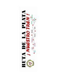 Iniciativas en las que ha participado el Movimiento por el Tren Ruta de la Plata