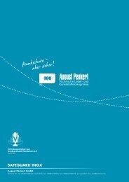 safeguard inox premium - August Penkert GmbH