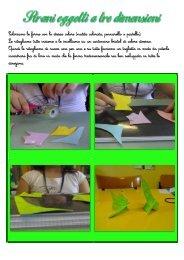 Coloriamo le forme con lo stesso colore (matita colorata, pennarello ...