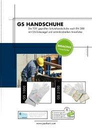 GS HandScHuHe - August Penkert GmbH