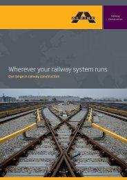 Wherever your railway system runs