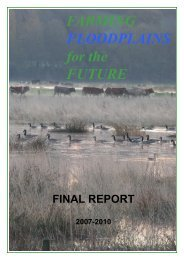 FARMING FLOODPLAINS for the FUTURE - Staffordshire Wildlife Trust