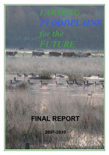 FARMING FLOODPLAINS for the FUTURE - Staffordshire Wildlife Trust