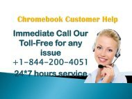 chromebook Help +1-844-200-4051