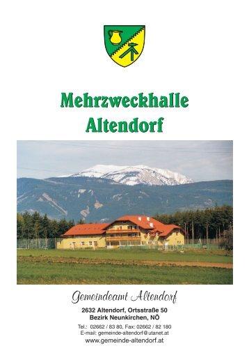 Mehrzweckhalle Altendorf Mehrzweckhalle Altendorf