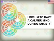 LIBRIUM TO HAVE A CALMER MIND DURING ANXIETY