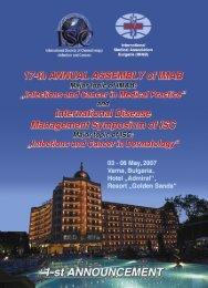 1-st announcement.pdf - International Medical Association Bulgaria ...