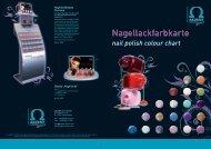 Nagellackfarbkarte - Akzent