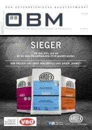 2018-6 OEBM Der Österreichische Baustoffmarkt - DIE SIEGER