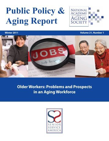 Public Policy & Aging Report - Senior Service America, Inc.