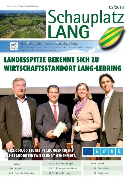 Schauplatz Lang 2018/2