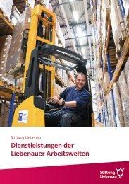 Dienstleistungen der Liebenauer Arbeitswelten