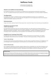 Steuerwerte Fonds 2011_KAUM - Raiffeisen
