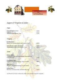 Steaks vom Schwein - Gasthof & Pension Kirst