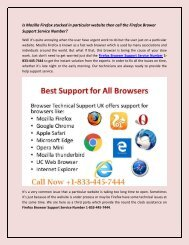 How to update Firefox Browser call 1-833-445-7444 service Number