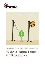 10 Jahre Futura-Fonds – ein Blick zurück - Inrate