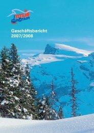 Geschäftsbericht 2007/2008 - Titlis