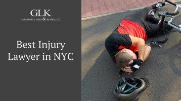Best Injury Lawyer in NYC - GLK Law