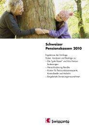 Schweizer Pensionskassen 2010 - Kantonalbanken