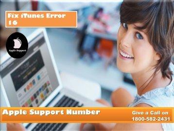 Fix iTunes Error 16