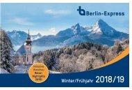 Winter-Frühjahr Berlin Express 2018/19